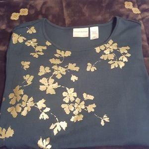 Elegant Green Sweater